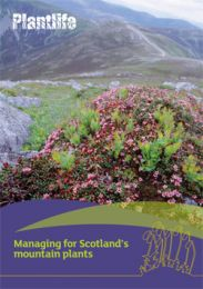 Managing for Scotlands mountain plants