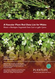 A Vascular Plant Red Data List for Wales