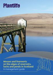 Mosses and liverworts on the edges of reservoirs, lochs and ponds in Scotland